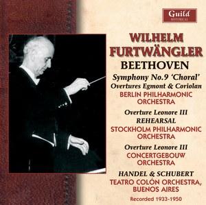 Wilhelm Furtwängler (1886-1954) - Beethoven Symphony No  9